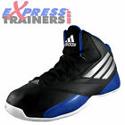 Adidas Mens 3 Series 2014 Classic Hi Top Basketball Trainers Black *AUTHENTIC*
