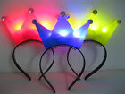 Kids headbands Girls hair Accessories Led light up Princess Tiaras Crown Party