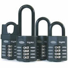 heavy duty combination padlock