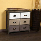 Shabby Chic Antique Chest of Drawers Bedside Cabinet Bedroom Storage Furniture
