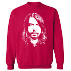 Dave Grohl Face Close Up Foo Fighters Unisex Sweater Sweatshirt Jumper NEW