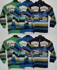 Boys LOVELY New Knitted Cardigan Jumper Knit Zip Neck 2-6 yrs Sweater Top Zipper