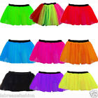 CHRISTMAS XMAS 1980'S HEN NIGHT NEON TUTU SKIRT DANCEWEAR FISHNET UK SIZE 8 - 22