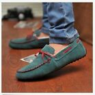 New Mens Comfy Suede Casual Slip On Loafer Shoes Moccasins Driving Shoes A33
