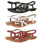 Born Womens Mai Thong Buckle Ankle Strappy Slingback Fashion Sandals Flats Shoes