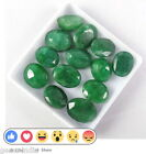 100Ct/13Pcs Ebay Natural Oval Cut Brazilian Loose Green Emerald Gems Lot GEM EDH