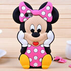 3D Cartoon Minnie Mouse Super Hero Soft Silicone Rubber Case Cover Apple iPhone