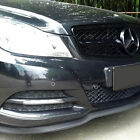 MERCEDES BENZ Front Bumper Lip Splitter Chin Spoiler Body Kit Valance Trim Wing