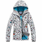 Women Ski Snowboard Jacket Winter Warm Hooded Snow Suit Parkas Coats Outdoor