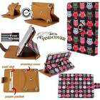 Rotating Stand Wallet Leather Case Cover For Various Amazon Kindle Fire Tablets