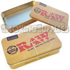 RAW Rolling Papers Printed Tobacco Tin Case