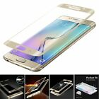 Full Cover Curved Tempered Glass Flim Screen Protector For Samsung S6 Edge Plus+