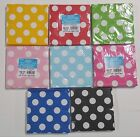 "Polka Dot Party Napkins Paper 13""x13"" 2 Ply 16 Count Lunch N"