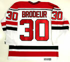 MARTIN BRODEUR NEW JERSEY DEVILS WHITE CCM VINTAGE JERSEY NEW WITH TAGS