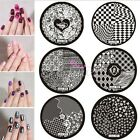 56 Styles Nail Art Stamp Steel Template Image Stamping Plate Manicure Polish Set