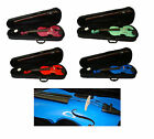 Student Violin 1/2 3/4 or 4/4 with Case & Bow in 5 Bright