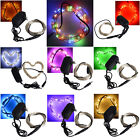 multicolor 33ft 100 LED Copper Wire LED String Fairy Lights Lamp for Decoration
