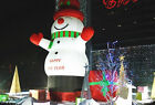 4m/13.1'h Advertising Sale Giant Huge Inflatable Snowman Christmas-customize