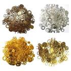 70 X Bronze Silver Gold Steampunk Cogs Gears Charm Pendant Mix Jewellery Making
