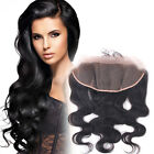 13x4 Body Wave Lace Frontal Closure with Baby Hair Brazilian Virgin Human Hair