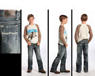 Rock & Roll Cowboy BB Gun Regular Fit Ivory Simple Stitch Youth Western Jean