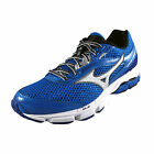 Mizuno Mens Wave Legend 3 Premium Running Shoes Gym Trainers Blue *AUTHENTIC*