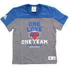 adidas New York Knicks Kids Boys Graphic Basketball T-Shirt Tee