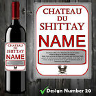 PERSONALISED FUNNY WINE BOTTLE LABEL BIRTHDAY ALL OCCASIONS CHRISTMAS GIFT