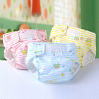 New Baby Cartoon Waterproof Diaper Cotton Breathable Leakproof Diapers 1PC