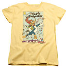 Woody Woodpecker Animated Cartoon Character Vintage Woody Women's T-Shirt Tee