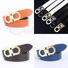 Luxury Business Cowskin Leather Smooth Buckle High Quality Men Waist Belts HOT