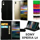 Leather Wallet Book Flip Mobile Phone Case Cover For Sony xPeria M2 - D2305