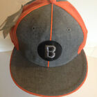 NwT Negro League Museum Fitted Baseball Cap Baltimore Black Sox