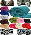 Faux Fur Blanket/Throws Luxury Fleece Blanket Mink Sofa Bed 127 Cm x 152 Cm