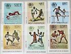 MOZAMBIQUE MOCAMBIQUE 1984 967-72 896-01 Summer Olympics Los Angeles Soccer MNH