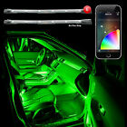 XKGLOW XKchrome iOS Android Phone 6pc Interior Car Truck LED Accent Light Kit