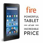 Amazon Kindle Fire 7 inch IPS 8 GB Black w Front Rear Camera - New 2015 Model