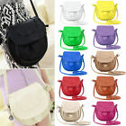 Fashion Women Lady Leather Messenger Crossbody Shoulder Bag Satchel Handbag Tote