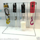 MESH PANEL COUNTER TOP DISPLAY ACCESSORIES METAL STAND