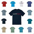 Tommy Hilfiger MENS T SHIRT tees Size S M L XL NWT blue RED cotton logo tee