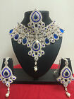 Bollywood Indian Ethnic Bridal Necklace Earring Jewellery Party Wear Set