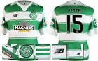 *15 / 16 - NEW BALANCE ; CELTIC HOME SHIRT SS + PATCHES / PETTA 15 = SIZE*