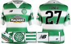*15 / 16 - NEW BALANCE ; CELTIC HOME SHIRT SS + PATCHES / TONEV 27 = SIZE*