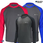 Black Mountain Climbing Camping Outdoor Spring and Autumn  Soft Round  T-Shirts