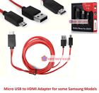 MHL Micro USB to HDMI 1080P HD TV Cable Adapter for Samsung Galaxy s3 s4 s5 USA