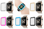 Premium Tempered Glass Screen Metal-Frame Film Protector For Apple Watch 38mm