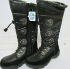 Ice-Tex Girls/Ladies Black Long Warm Winter Boots Sizes EU 30 X 39 (R22F)