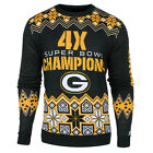 GREEN BAY  PACKERS 4 X SUPERBOWL CHAMPION  SWEATER---  PICK SIZE