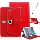 "Universal Leather Stand Case Cover For 7.85"" NuVision TM785M3 TM785A520L Tablet"