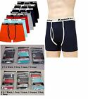 Lot of 6 New Mens Boxer Briefs Stretch Cotton Underwear Size S-3XL #BBC4500